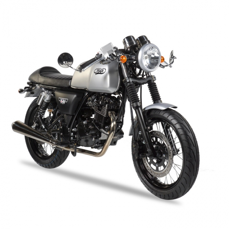 Cafe Racer 125cc Silver Lmh Motors Motorcycles