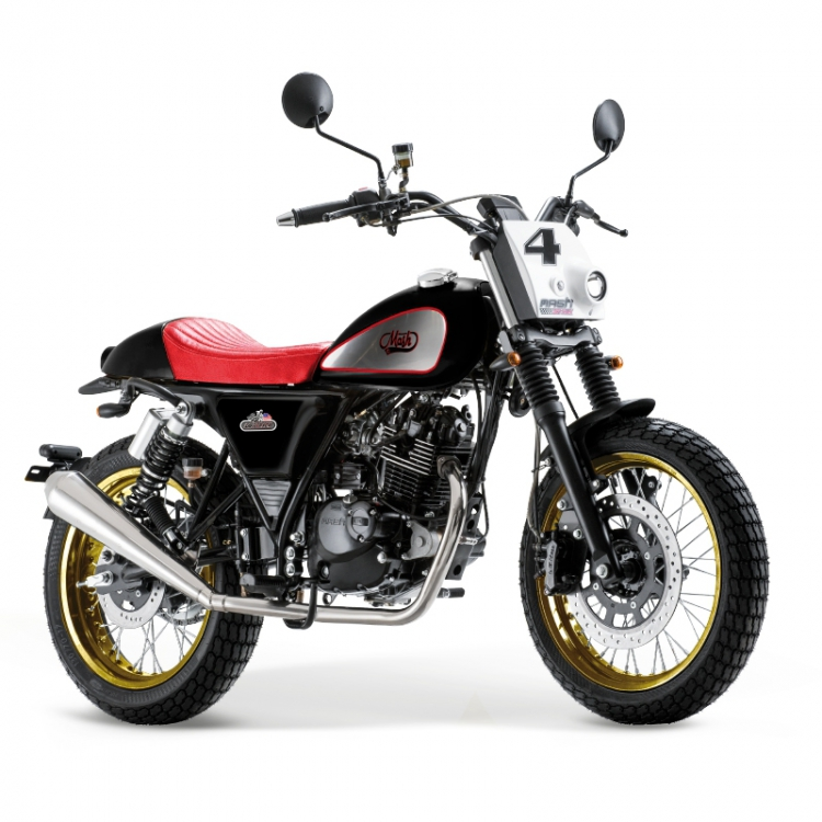 Dirt Track 125cc injection - Black