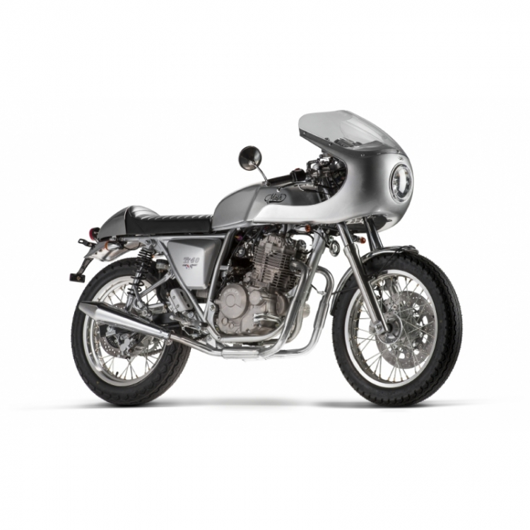 400 Cafe Racer - Silver